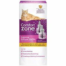 Comfort Zone Cat Calming 30 Day Diffuser Refill, 48 ml- 2 Pack