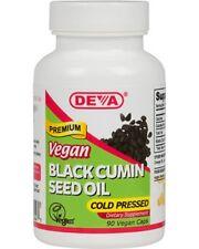 Deva Vegan Black Cumin Seed Oil - 90 Vegetarian Capsules EXP 04/2020