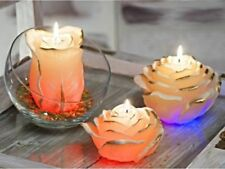 Deko-LED-Kerzen mit Rosen-Duft