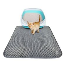 Waterproof Double-Layer Cat Litter Mat Pet Kitten Trapper Dirt Catcher EVA Pad