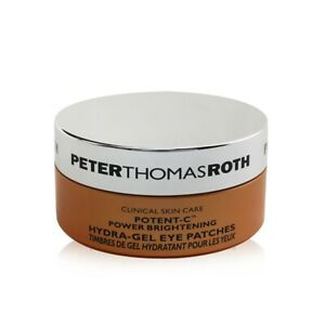 NEW Peter Thomas Roth Potent-C Power Brightening Hydra-Gel Eye Patches 30pairs