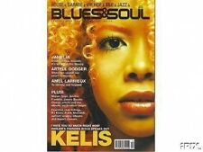 Kelis on Blues & Soul Magazine Cover 2000  Jamelia  Artful Dodger  Amel Larrieux