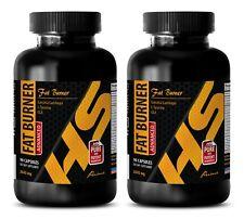Weight loss for men belly fat - FAT BURNER EXTREME - Metabolism pills - 2 Bottle