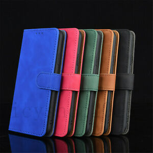 For MOTO Phone Cases Magnetic Leather Slots Wallet Holder Flip Stand Book Covers