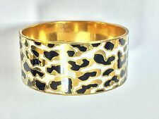 Kate Spade Changing Spots Bangle Bracelet NWT BEAUTIFUL LEOPARD Animal Print