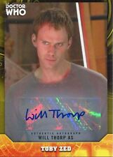 Doctor Who Signature Series Yellow [25] Autograph Card Will Thorp As Toby Zed