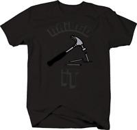 Nailed It Hammer Nail Contractor Construction Dad T-Shirt