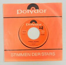 THE WHO 45 Pinball Wizard / Dogs Part Two POLYDOR German Press #BB866