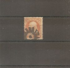US STAMP 1861 30C FRANKLIN TIMBRE USA YT N°25 OBLITERE USED