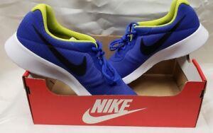 Nike Tanjun Premium Paramount Blue/Black/White Men's Size 13 (D2)