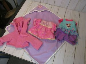 G4 Baby Alive Lot of Clothes Hooded towel