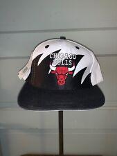 Vintage Chicago Bulls Logo 7 Sharktooth SnapBack Hat Deadstock