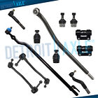12pc 4WD Front Drag Link Ball Joint Sway Bar End Link Tierod for Ford F-250 SD