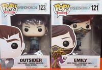Funko Pop - Dishonored 2 - 2 Personaggi: EMILY e OUTSIDER