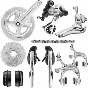 New Campagnolo Silver Centaur 11sp. Cycling Groupset 172.5mm 52-36T / 12-32T
