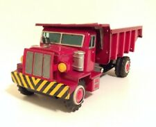 RARE VINTAGE HYDRAULIC DUMP TRUCK T.N. NOMURA JAPAN CAR TIN LITHO TOY