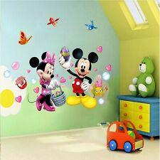Wandtattoo Kinderzimmer Minnie Mouse Micky Maus Wandsticker XXL Disney Mädchen