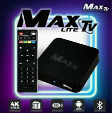 MAXTV LITE 2019 BOX ANDROID 7.1 4K Quad Core Cortex-A53 1GB RAM/ 8GB Flash