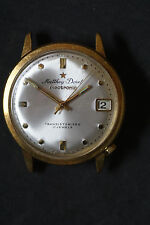 Vintage Matthey-DORET electrónica transistorizado 17 Joya Caballeros Reloj