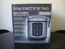 Time Machine - 20 Cup Rice Cooker, Slow Cooker, Yogurt Maker & Food Steamer