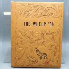 Vintage Levelland Texas Junior High School 1956 Yearbook The Whelp
