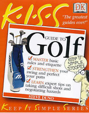 KISS Guides: Playing Golf, Duno, Steve, Used; Good Book