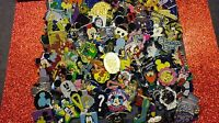 DISNEY PIN 225+2 PINS FREE, MIXED LOT FASTEST SHIP 2 USA 125-150 DIFFERENT MIN