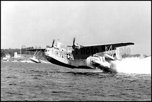 USCG Martin PBM Mariner JATO Takeoff 1950's 8x12 Aircraft Photos