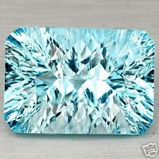 8,41 ct  Light Blue Topaze - Octagonal cut VVS - Brazil