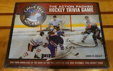 Chalk Talk Hockey (2004) The Action Packed Hockey Trivia Game - Brand New Sealed