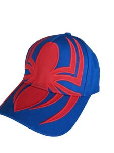 Marvel Spiderman Adjustable Snapback Baseball Cap Hat Avengers juniors Size