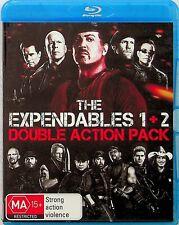 The Expendables 1 & 2 Blu Ray (Arnold Schwarzenegger/Sylvester Stallone/Jet Li)