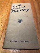 Irish Tourist Directory 1939