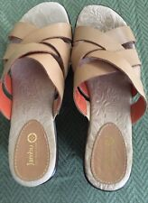 """Jambu """"Lily"""" Sandals Nude ~Size 8 EUC"""