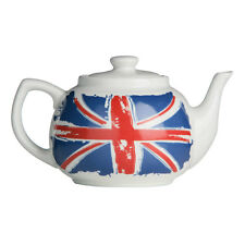 Cool Britannia Teapot Porcelain 1.2Ltr Tableware Serving Dining Bar Cookware New
