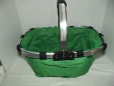 Folding Picnic Basic Portable Lightweight Collapsible Tote Bag Grocery