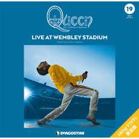 Queen LP Record Collection #19 LIVE AT WEMBLEY STADIUM 3LP Vinyl DeAGOSTINI