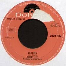 "[JOE SOUTH] BOBBY LEE ~ CHILDREN / FINE ON MY MIND ~ 1972 UK 7"" SINGLE"