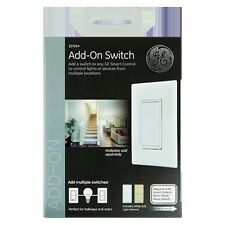 GE Add-On In-Wall Switch Z-Wave Bluetooth Smart ZigBee Paddle Dimmer Fan Control