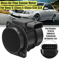 Mass Air Flow Sensor Meter MAF 5WK9613 For Mercedes-Benz C E-Class CLK SLK