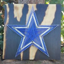 Custom Dallas Cowboy String Art Wall Art