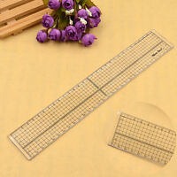 30cm Acrylic Patchwork Sewing Ruler Grid Cutting Template Transparent Hot