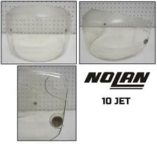 Visiera visor casco helmet jet open-face NOLAN 10 JET - trasparente clear