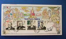 Un G Bradbury 1995 comunicazioni primo giorno di copertina firmata da Lord BAGNO
