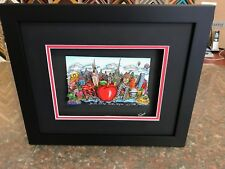 """Charles Fazzino 3D Artwork """" Blue Skies over New York """" AE Deluxe Edtion Signed"""