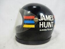 Original vintage James Hunt helmet for HEUER Formula 1 helmet clocks / Helm