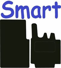 Tailored Deluxe Quality Car Mats Smart For Two PULSE 2007-2014 ** Black **