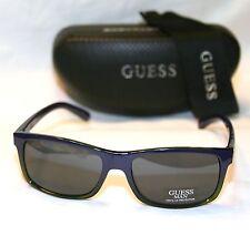 Genuine GUESS Man GU6777-BLGR-3-57 Mens Sunglasses NAVY BLUE & TRANSLUCENT GREEN
