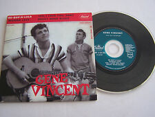 CD SINGLE DE GENE VINCENT , BE BOP A LULA . 4 TITRES  . TRES BON ETAT .