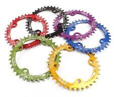 Single Narrow Wide Chainring Oval BCD 96/104mm 30 32 34 36 38 40 42T MTB XC Bike